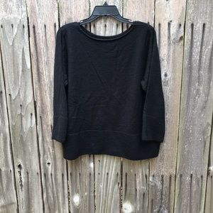 Preston & York Black Sweater